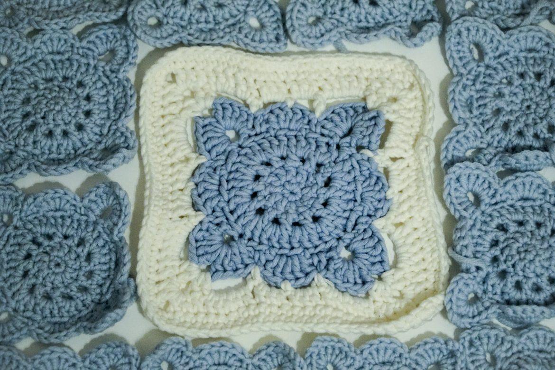 Die Granny Square-Decke – mein Langzeitprojekt