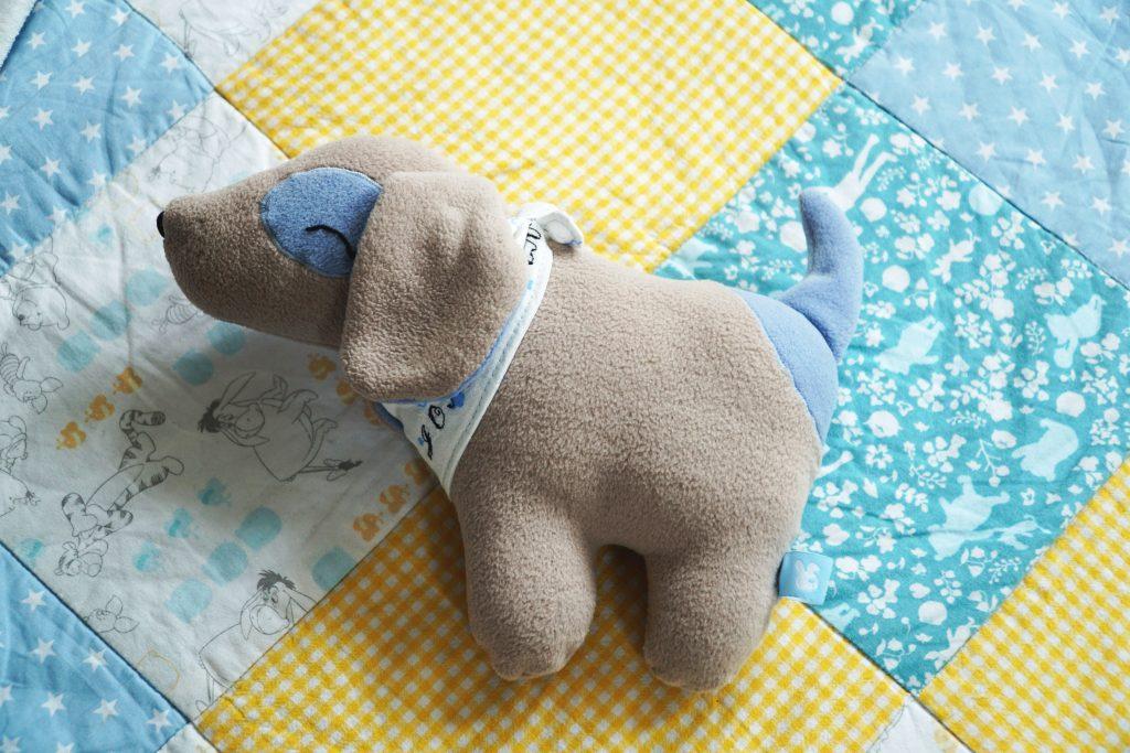 Hund Klecks für Jonathan